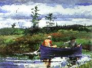 Winslow Homer The Blue Boat oil painting picture wholesale