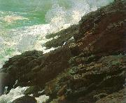 Winslow Homer High Cliff, Coast of Maine oil painting picture wholesale