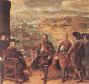 ZURBARAN  Francisco de Defence of Cadiz against the English oil painting
