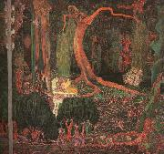 Jan Toorop Desire and Gratification(The Appeasing) oil painting artist