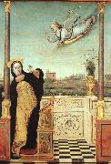 Braccesco, Carlo di The Annunciation oil painting artist