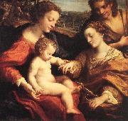 Correggio The Mystic Marriage of St Catherine oil painting picture wholesale