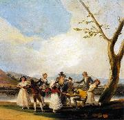 Francisco Jose de Goya Blind Man's Buff oil painting picture wholesale
