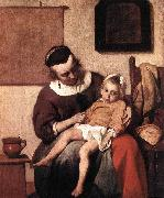 METSU, Gabriel The Sick Child af oil painting picture wholesale