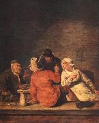 MOLENAER, Jan Miense Peasants in the Tavern af oil painting picture wholesale