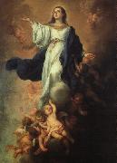 MURILLO, Bartolome Esteban Assumption of the Virgin sg oil painting picture wholesale