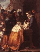 MURILLO, Bartolome Esteban Adoration of the Magi sg oil painting picture wholesale