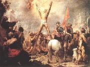 MURILLO, Bartolome Esteban The Martyrdom of St Andrew g oil painting picture wholesale