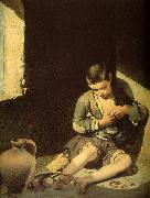 MURILLO, Bartolome Esteban The Young Beggar sg oil painting picture wholesale