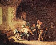 OSTADE, Adriaen Jansz. van Barber Extracting of Tooth sg oil painting picture wholesale