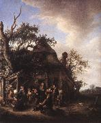 OSTADE, Adriaen Jansz. van Merry Peasants af oil painting picture wholesale