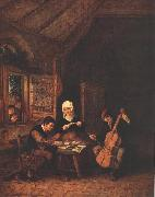 OSTADE, Adriaen Jansz. van Village Musicians  a oil painting picture wholesale