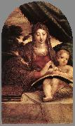PARMIGIANINO Madonna and Child sg oil painting artist