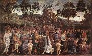PERUGINO, Pietro Moses's Journey into Egypt a oil painting picture wholesale