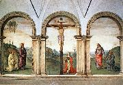 PERUGINO, Pietro The Pazzi Crucifixion sg oil painting artist