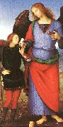 PERUGINO, Pietro Tobias with the Angel Raphael sgh oil painting picture wholesale