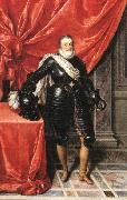 POURBUS, Frans the Younger Henry IV, King of France in Armour F oil painting artist