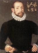 POURBUS, Frans the Younger Portrait of Olivier van Nieulant af oil painting artist