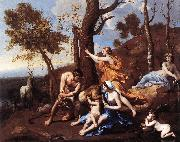 POUSSIN, Nicolas The Nurture of Jupiter sh oil painting picture wholesale