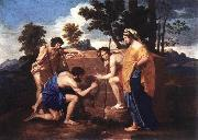 POUSSIN, Nicolas Et in Arcadia Ego af oil painting picture wholesale