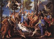 POUSSIN, Nicolas Apollo and the Muses (Parnassus) af oil painting picture wholesale