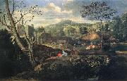 POUSSIN, Nicolas Ideal Landscape ag oil painting picture wholesale