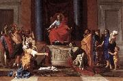 POUSSIN, Nicolas The Judgment of Solomon ag oil painting picture wholesale