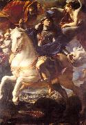 PRETI, Mattia St. George on Horseback af oil painting picture wholesale