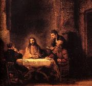 REMBRANDT Harmenszoon van Rijn Supper at Emmaus   fu oil painting picture wholesale