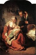 REMBRANDT Harmenszoon van Rijn The Holy Family x oil painting picture wholesale