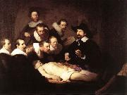 REMBRANDT Harmenszoon van Rijn The Anatomy Lecture of Dr. Nicolaes Tulp SE oil painting picture wholesale