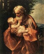 RENI, Guido St Joseph with the Infant Jesus dy oil painting picture wholesale