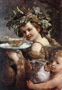 RENI, Guido The Boy Bacchus sy oil painting picture wholesale