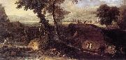 RICCI, Marco Landscape with Washerwomen fdu oil painting picture wholesale