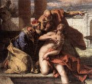 RICCI, Sebastiano Susanna and the Elders oil painting picture wholesale