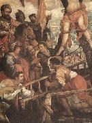 ROELAS, Juan de las The Martyrdom of St Andrew fj oil painting artist