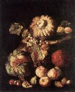 RUOPPOLO, Giovanni Battista Fruit Still-Life dg oil painting artist