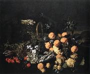 RUOPPOLO, Giovanni Battista Still-life in a Landscape asf oil painting artist
