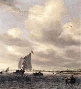 RUYSDAEL, Salomon van Seascape af oil painting picture wholesale