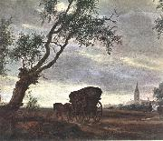 RUYSDAEL, Salomon van Halt at an Inn (detail)baf oil painting picture wholesale