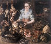 RYCK, Pieter Cornelisz van The Kitchen Maid AF Spain oil painting reproduction