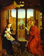 Rogier van der Weyden a Portrait of the Virgin Mary, known as St. Luke Madonna oil painting picture wholesale