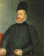 SANCHEZ COELLO, Alonso Portrait of Philip II af oil painting artist