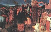 SASSETTA Death of the Heretic on the Bonfire af oil painting picture wholesale