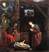 SAVOLDO, Giovanni Girolamo Adoration of the Shepherds sw oil painting picture wholesale