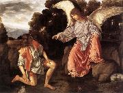 SAVOLDO, Giovanni Girolamo Tobias and the Angel sf oil painting picture wholesale