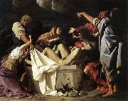 SCHEDONI, Bartolomeo The Deposition  R oil painting artist