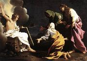 SCHEDONI, Bartolomeo The Two Marys at the Tomb SG oil painting artist