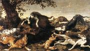 SNYDERS, Frans Wild Boar Hunt  t oil painting picture wholesale