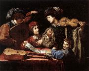 SPADA, Lionello The Concert wtr oil painting picture wholesale